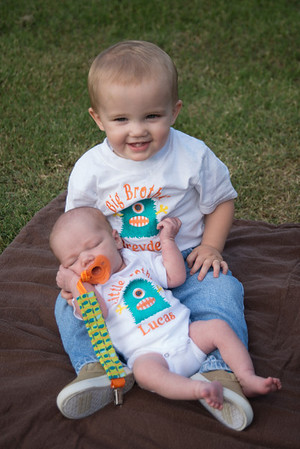 Breyden and Lucas - Newborn Photos