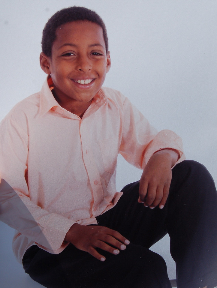 Keion, Ariana's middle son.