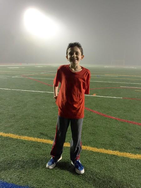 Foggy night @ Manhasset H.S. Football game<br /> 10/21/16