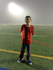 Foggy night @ Manhasset H.S. Football game 10/21/16