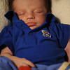 Jayhawk Jack in his swing, March 31, 2012.