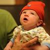 Jack in his Jayhawk hat, April 3, 2012.