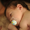 Jack, getting tummy time on daddy, March 14, 2012.