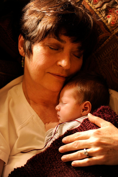 Jack and Grandma McCoy on March 19, 2012.