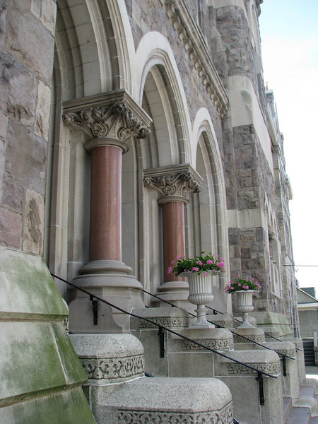 Steps of St John the Evangelist Church