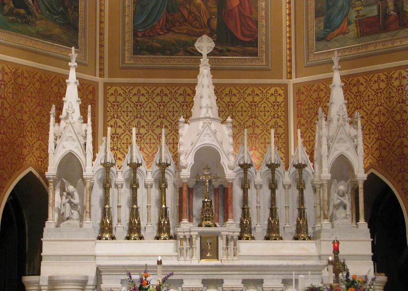 Altar of St John Evangelist Church