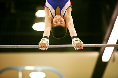 My cousin Jack Lawlor competiting during the Justin Spring Invitational at the Arc on the campus of the University of Illinois on December 13, 2009.  (Jay Grabiec)
