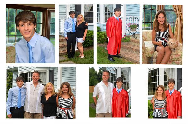 Jack's Middle School Graduation - June 24, 2013