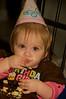 Elise enjoying her cake