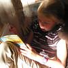 Kyla loves to read