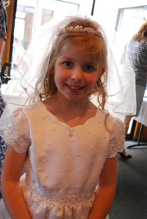 Jaden's 1st Communion, April 24, 2010