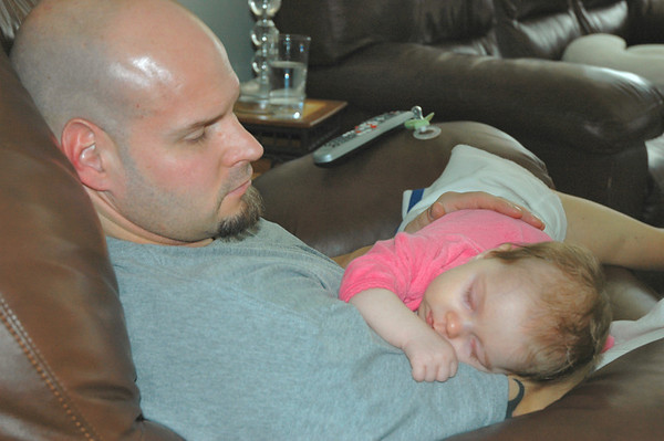 Daddy and Sister Lila