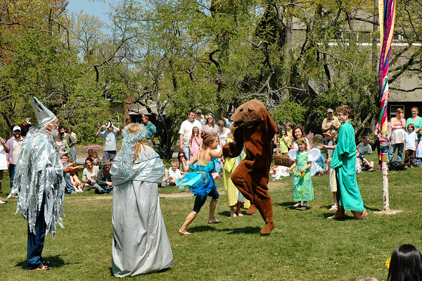 The Bear would rather dance with the Pixie.