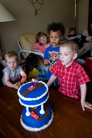 """<font size=""""3"""">Jake blew out the candles...</font>"""
