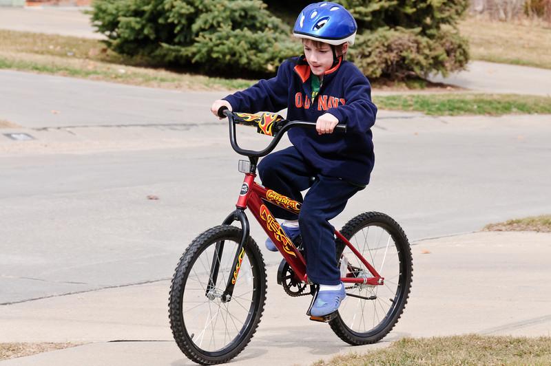jakes new bike