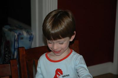 James' 4th Birthday