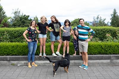 James Cybulski, Brenda & Family July 2021