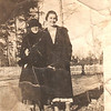 Lucille Corley (age 18) and Dora Mae Morrow, friend<br /> Gallman, Mississippi<br /> 1918