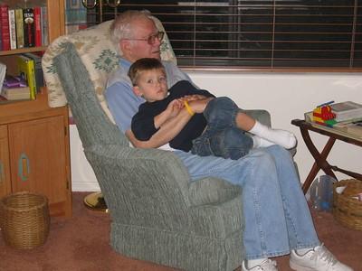 Grandpa & Ethan