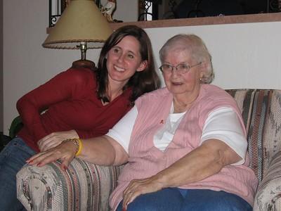 Gina & Grandma