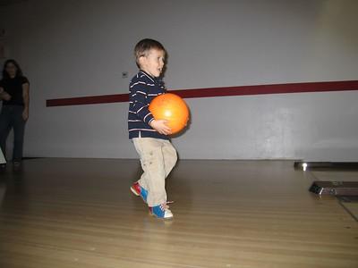 Ethan bowling.