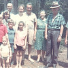Mark, Clint, Kathy, Uncle Dent, Sandy, Susan, Dorothy, Jimmy, and Percy<br /> 1966