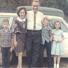 Sandy, Kathy, Jimmy, Mark and Susan Thaxton<br /> September 1966