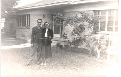 James  and Dorothy Wood Thaxton Family 1950s