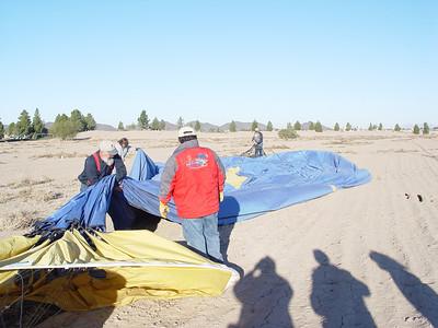 Jan 20, 2008 Balloon Ride