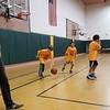 Charlie coaches Mason's 2nd/3rd grade basketball team.