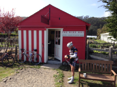 Bike Hut on Tunitas Road