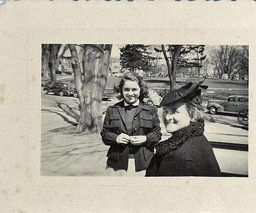 Jane Adams, and Mary Parnell Adams, Cornell, 1943-2-2
