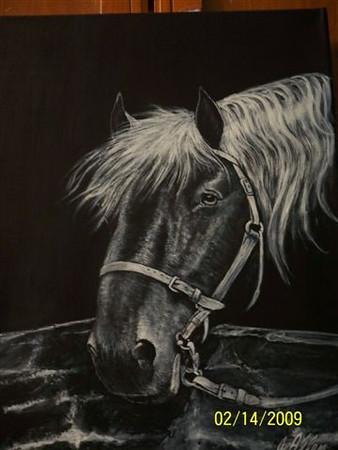 Sister Jan's painting