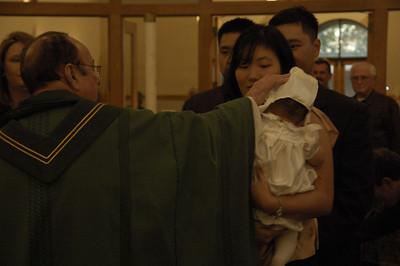 January 19, 2008 - Emily's Baptism