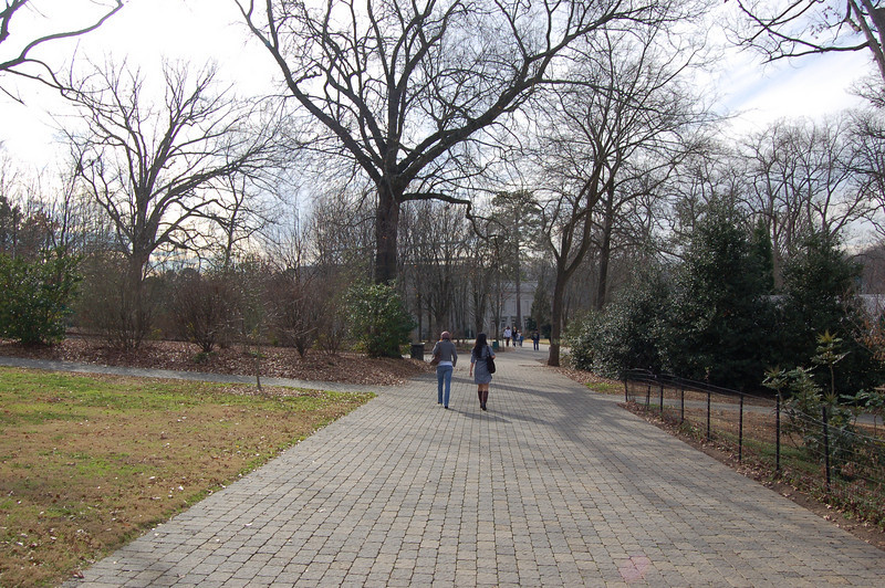 Grant Park, leading to Zoo Atlanta