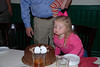 Camden helping blow out the candles...a big 60!