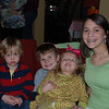Jack, Levi, Camden and Kenlee at Michelle's baby shower.