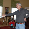 We went to Arkansas to see our cousins. Papa was introduced to the Wii.