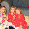 Mallory, Claire and Camden before heading to bed.