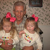 Papa and the girls