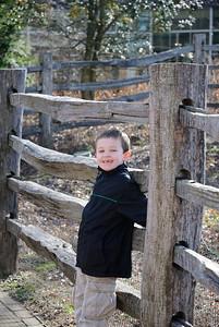 Jack at Mount Vernon.