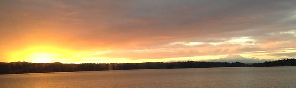caught sunrise