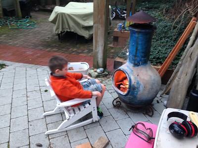 standard yard work and fire