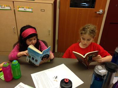 Megan & Hannah- Cat and Dog books...