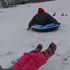 Sledding, January 21st, 2018