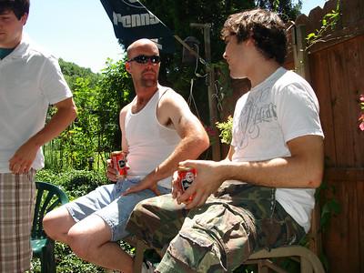 Jarrett's Grad Party 6-23-07