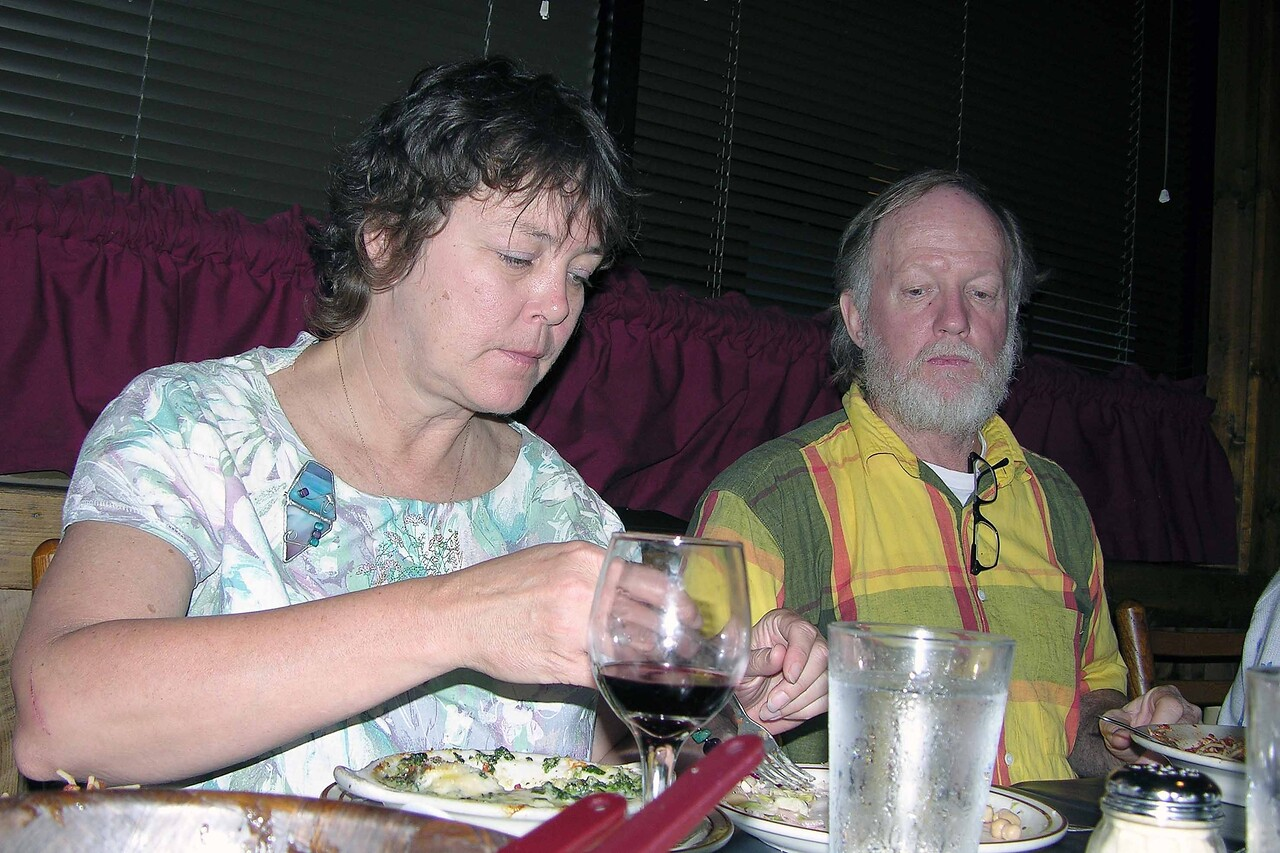 Jason dinner at Altrudas