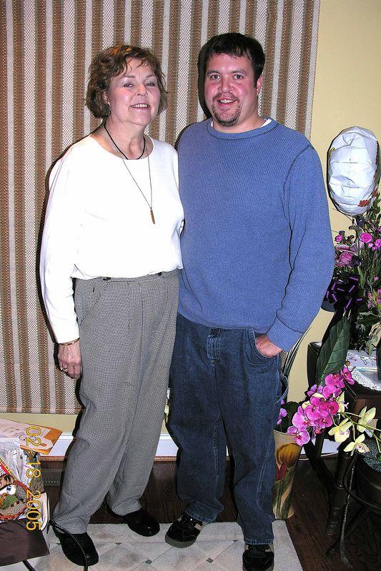 Pat and Jason Feb 2005