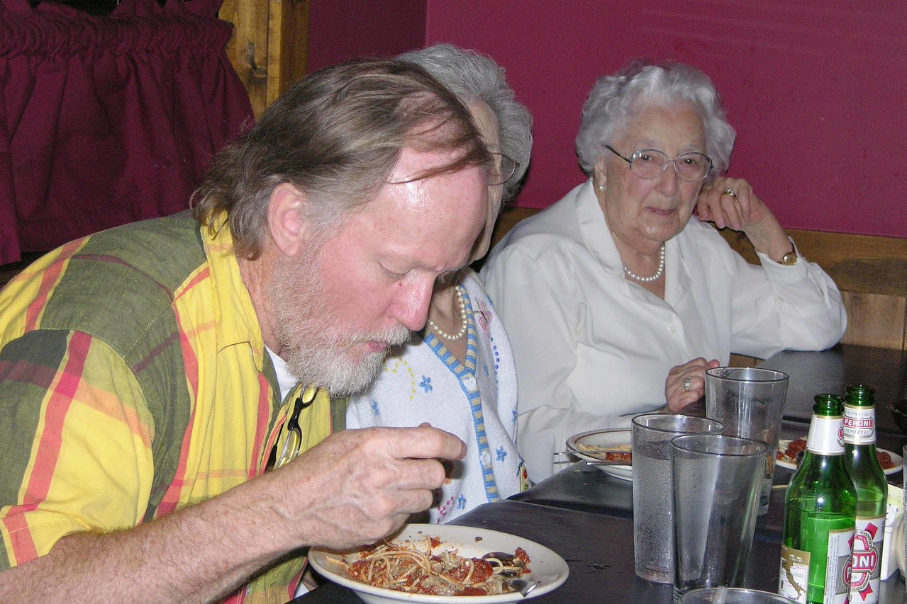 Jason dinner at Altrudas May 2004