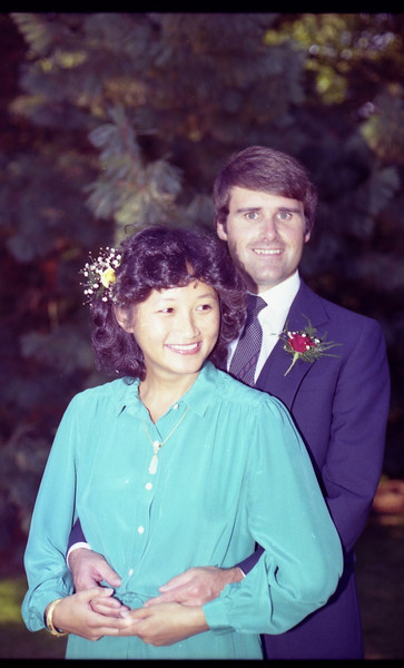 Jay and Rose wedding - Sept 1980